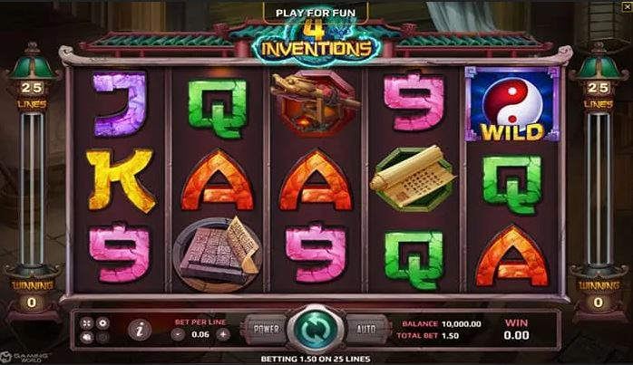 The Four Inventions slot